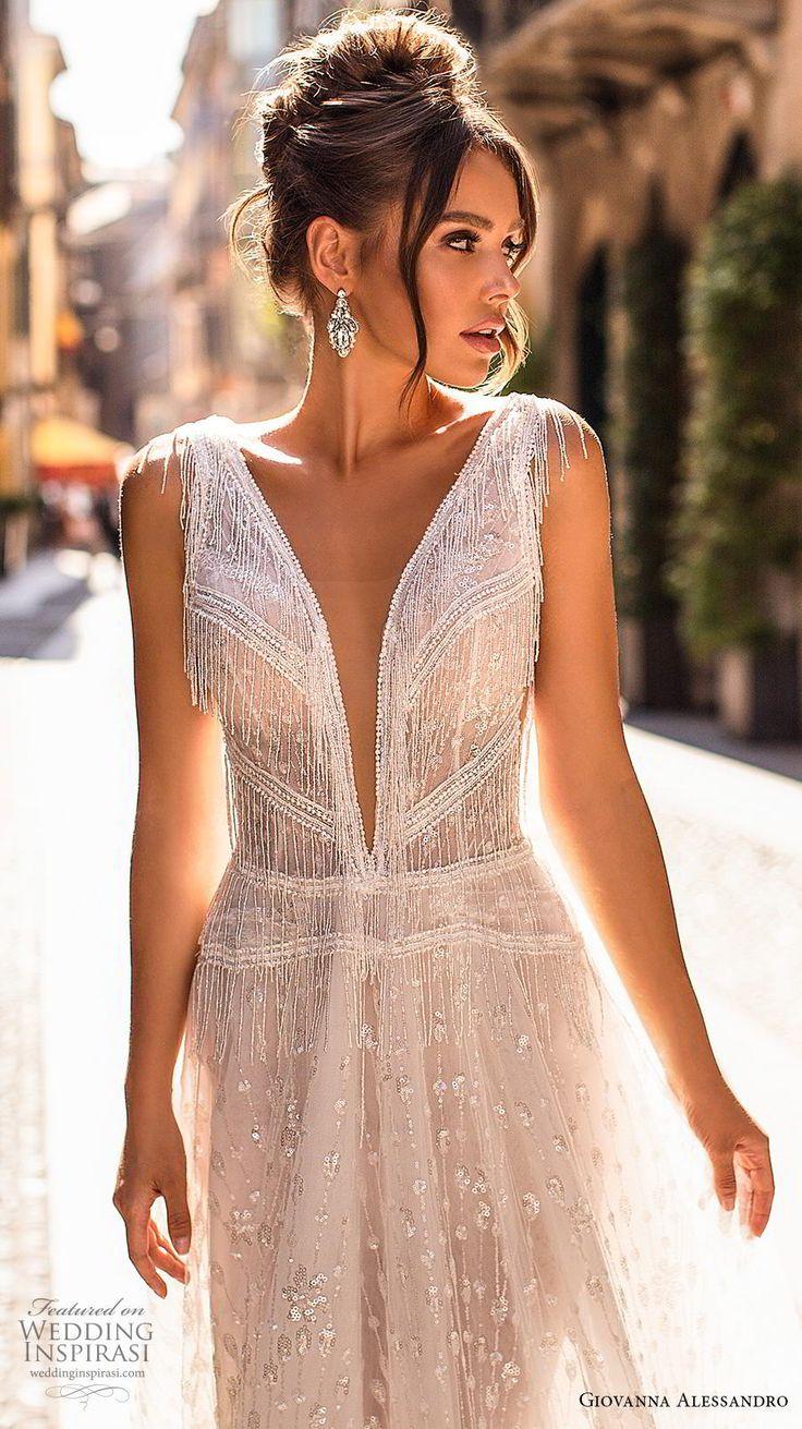 "Giovanna Alessandro 2019 Wedding Dresses — ""Magica Milano"" Bridal Collection"