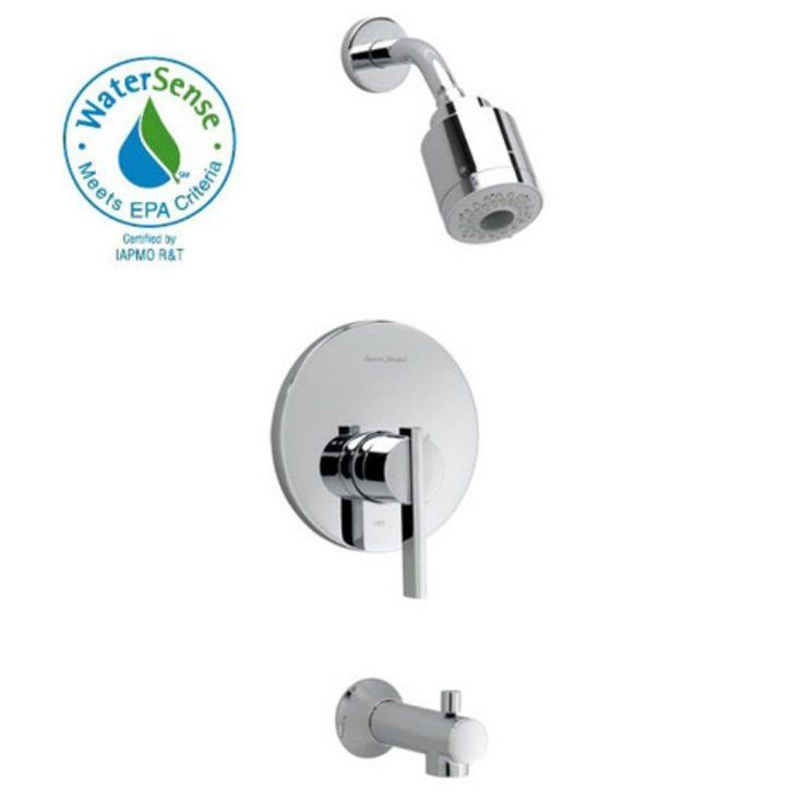 american standard berwick flowise t430508 tub and shower faucet set