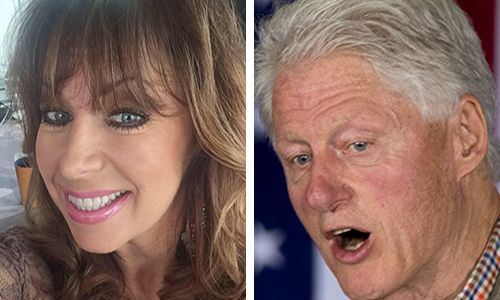 Paula Jones goes off! I don't recall Bill or Hillary apologizing while Bill got 'his wee wee . . . under the Oval Office desk'
