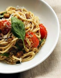 Spaghetti with Eggplant and Tomato | Favorite Recipes | Pinterest