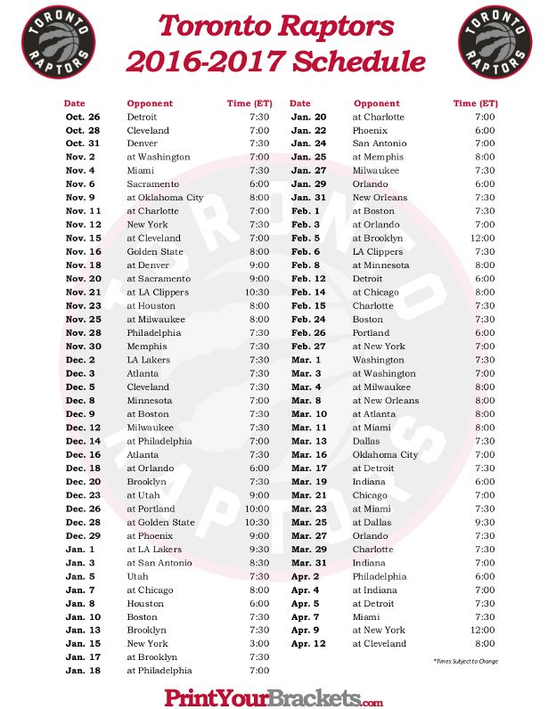61 best Printable NBA Schedules images on Pinterest