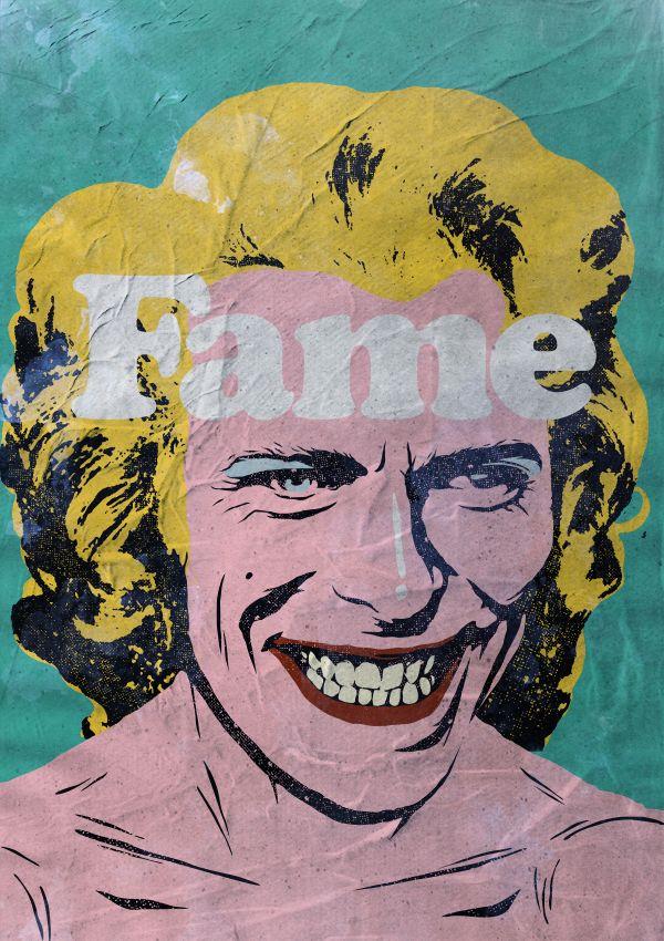 Дэвид Боуи в поп-образах \ Illustrations  Бразильский иллюстратор работающий под псевдонимом Butcher Billy в память об ушедшем Дэвиде Боуи (David Bowie) создал серию его портретов в популярных образах.