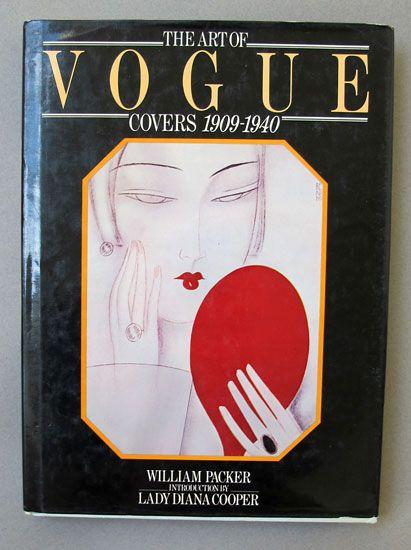 Книга про обложки журнала Вог (1909-1940)