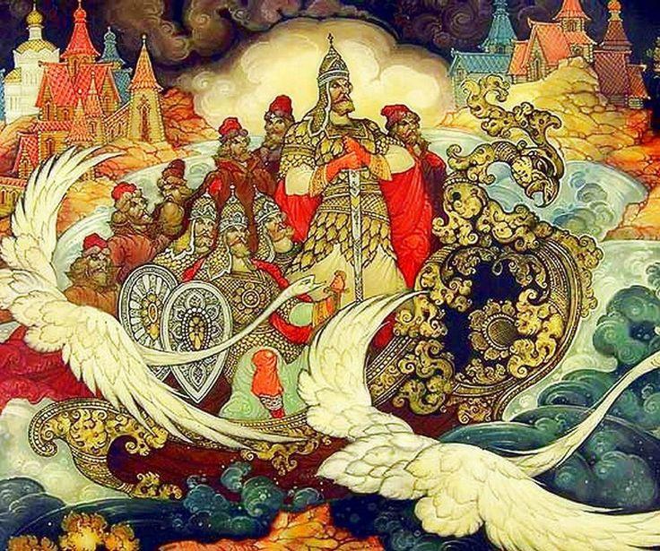 Русская лаковая миниатюра. | 580 фотографий