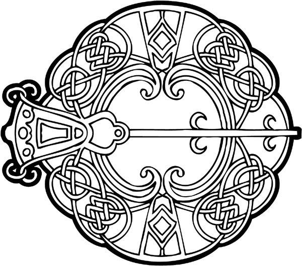 Beautiful Celtic Vinyl Graphic Sticker Customize On Line