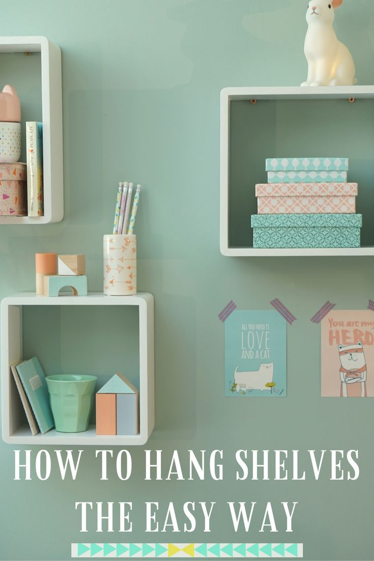 If you're not great at DIY then you need to know how to put up shelves the easy way! No drills no mess. Just a screwdriver and screws in this incredibly easy way to hang your shelf. You'll be amazed at how simple this really is. DIY will never be the same again!