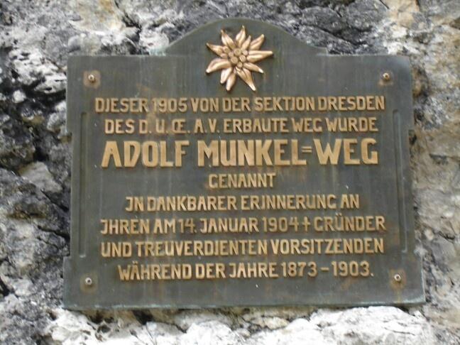 Adolf Munkel Weg