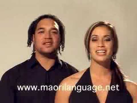 Maori Language songs on you tube