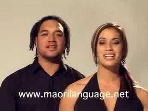 Maori Language songs on you tube