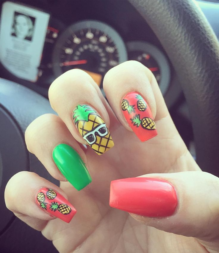 Nail Art Ideas For Beach Vacation: 17 Best Ideas About Vacation Nails On Pinterest