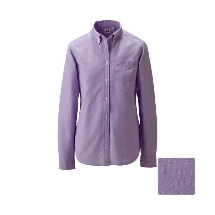 UNIQLO | WOMEN Oxford Long Sleeve Shirt