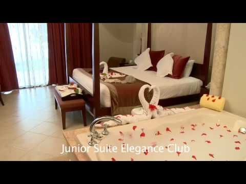 Majestic Elegance Punta Cana - Junior Suite Elegance Club Room Preview - YouTube