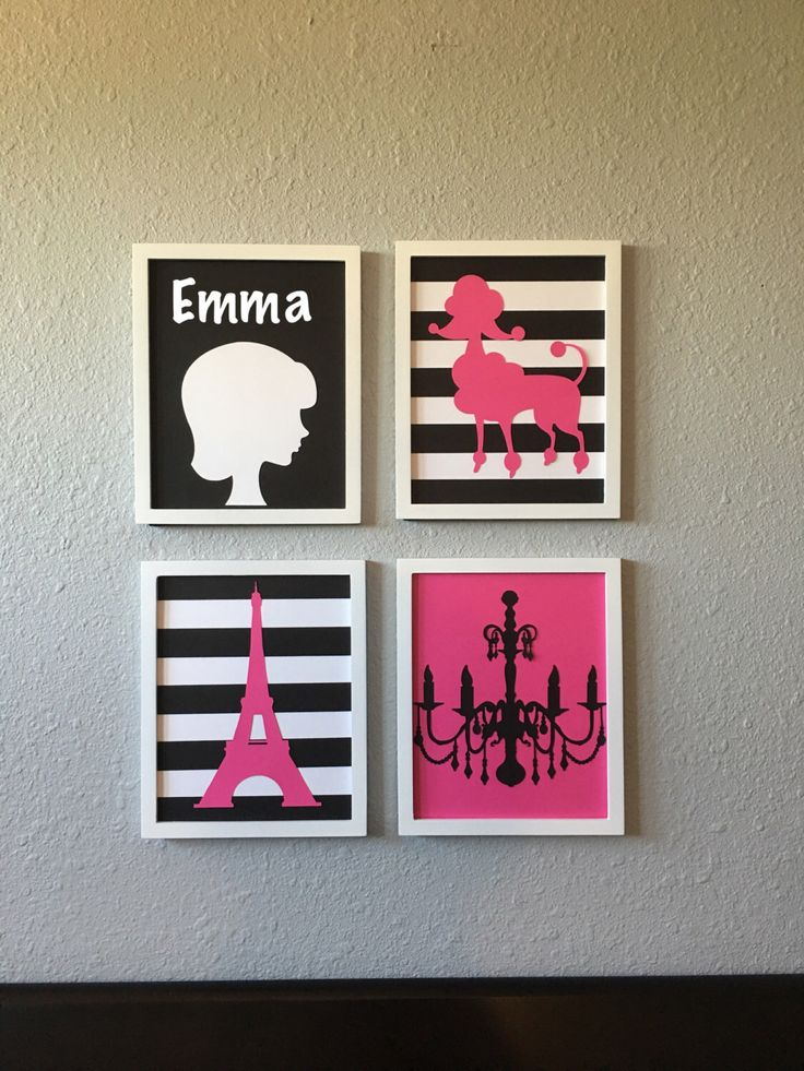 A personal favorite from my Etsy shop https://www.etsy.com/listing/468793225/peronalized-paris-themed-nursery-art-hot