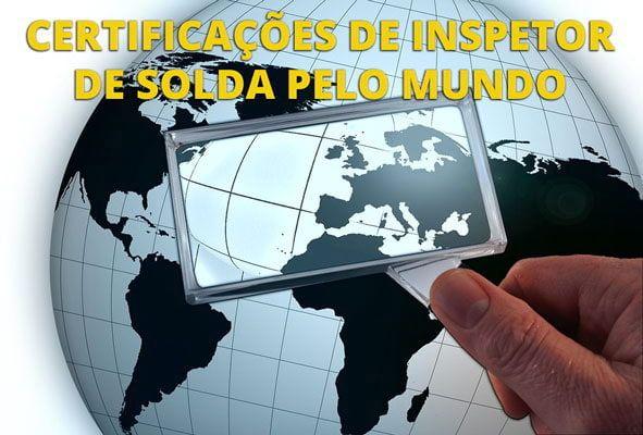 Você sabia que existem VARIAS certificações de inspetores de soldagem ao redor do mundo?  CERTIFICAÇÕES DE INSPETOR DE SOLDA PELO MUNDO Conheça as certificações de inspetores de soldagem pelo mundo clicando aqui. https://inspesolda.com/snqc/#certificacoes-de-inspetor-de-solda-pelo-mundo