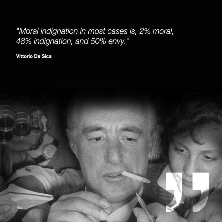 Vittorio De Sica - citazione  #quote #neorealism #neorealismo #VittorioDeSica #DeSica #movie #cinema #triworld #triworldcinema