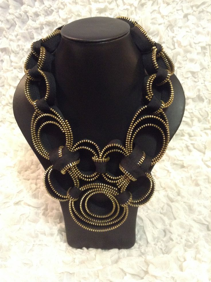 a black necklace is always necessary!! How about something special??