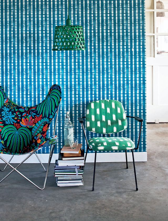 Fab color/pattern mix.