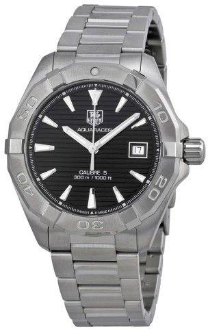 Tag Heuer Aquaracer Automatic Black Dial Men's Watch WAY2110.BA0910