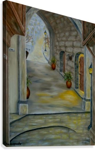 Medieval Theme, art, painting, canvas print