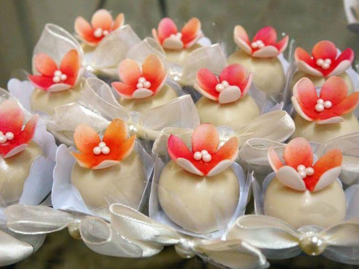 Tulipa de Tangerina | Pequenos Sonhos Doces - Melhores Doces Finos para Casamento em São Paulo