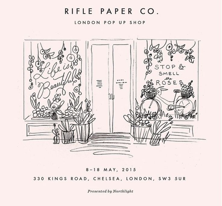 Northlight presents Rifle Paper Co. London Pop Up Shop 8th - 18th May 2015