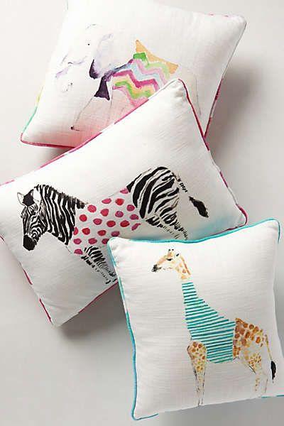Animal Pillow Pinterest : Antropologie animal pillows Children s Room Pinterest Animal pillows, Animals and Atelier