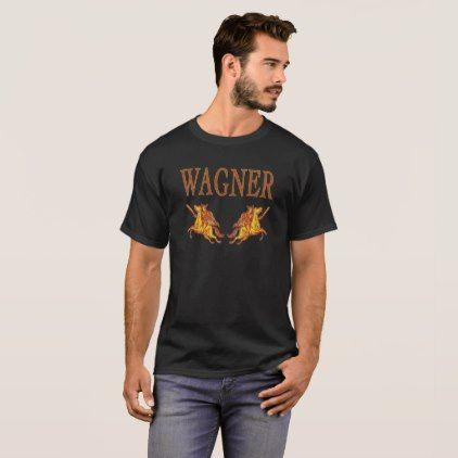 WAGNER - Ride of the Valkyries T-Shirt - unusual diy cyo customize special gift idea personalize