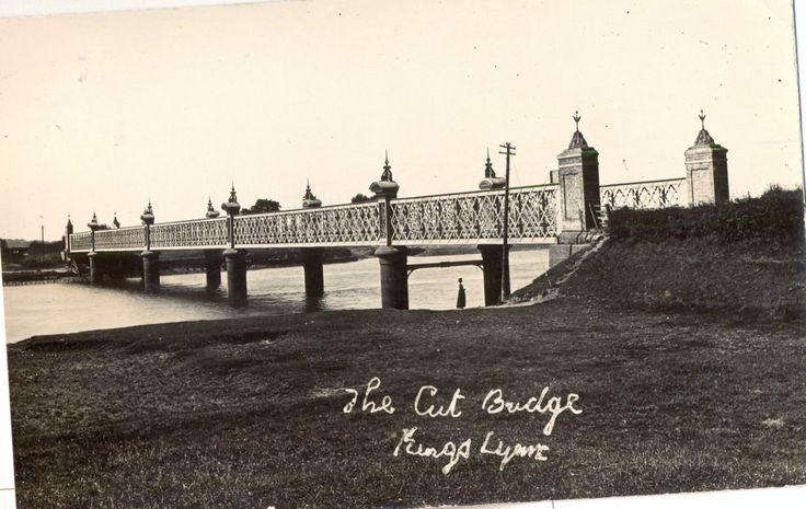 KINGS LYNN NORFOLK - THE CUT BRIDGE 1906 | eBay