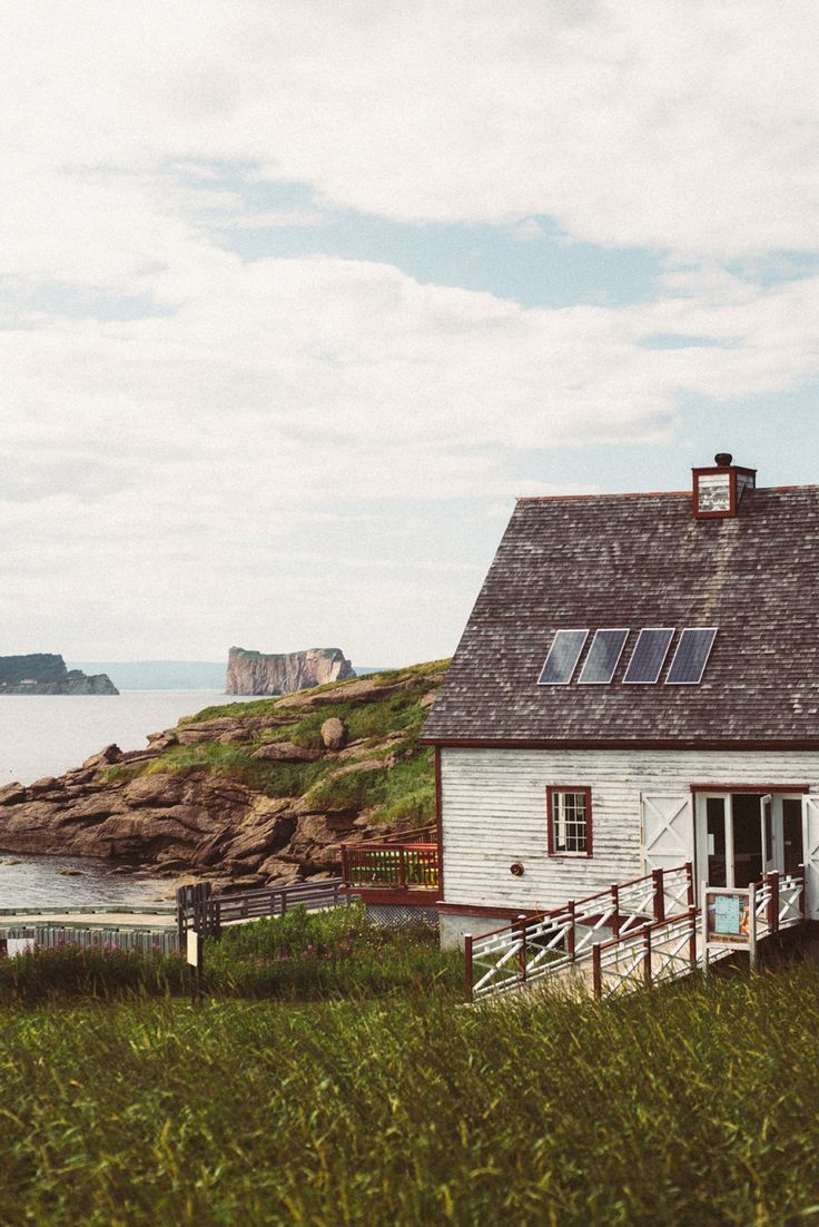 Gaspésie . Quebec . Canada . Percé . Roché Percé . Île . Island Bonaventure . Océan . Sara Megan Photography