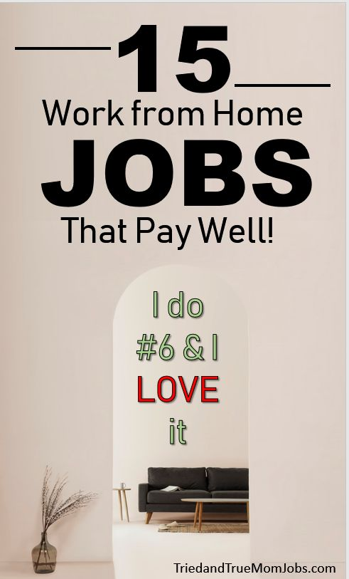 15 Work from Home Jobs – The BeatuyChanel
