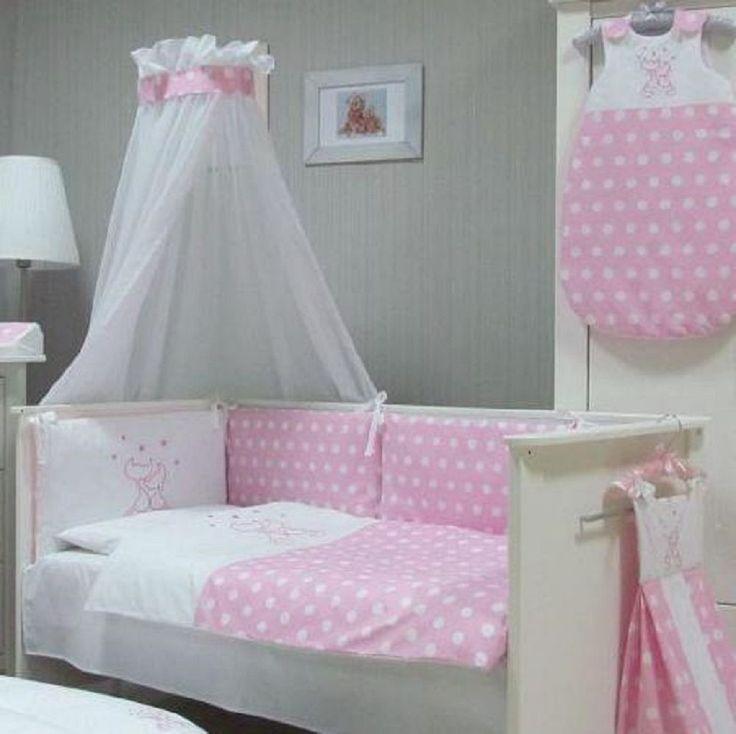 Babymajawelt® BABY BETTWÄSCHE SET PUNKTE - CATS,  4tlg Bett Set, 135/100 VOILE für BABYBETT 140/70. Mehr aus dieser Serie auf www.babymajawelt.de