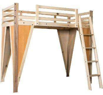 31 best loft bed designs images on pinterest child room lofted beds and bedroom boys. Black Bedroom Furniture Sets. Home Design Ideas