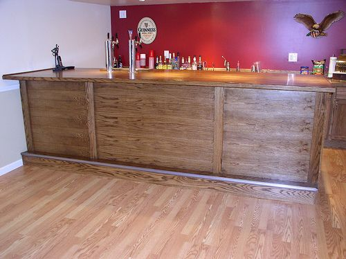 Simple Bar For The Basement