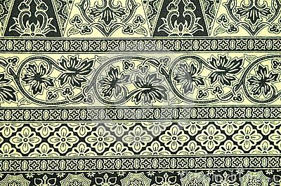 Batik Sarong Pattern Background by Jaggat ..., via Dreamstime