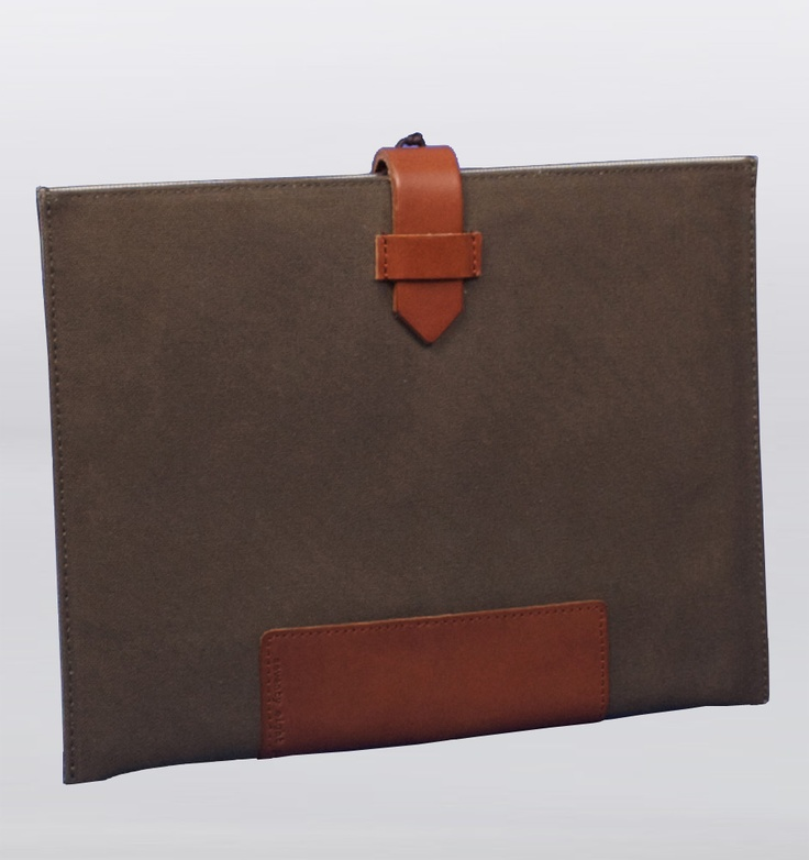 Seventy Eight Percent Agnetha Olive Canvas iPad Case: Canvas Ipad, Olives Canvas, Cases Leather Canvas