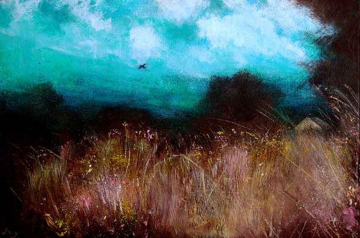 'Flight' by John O' Grady Irish Landscape painting Irish Art