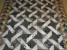 black and white quilt - Google Search