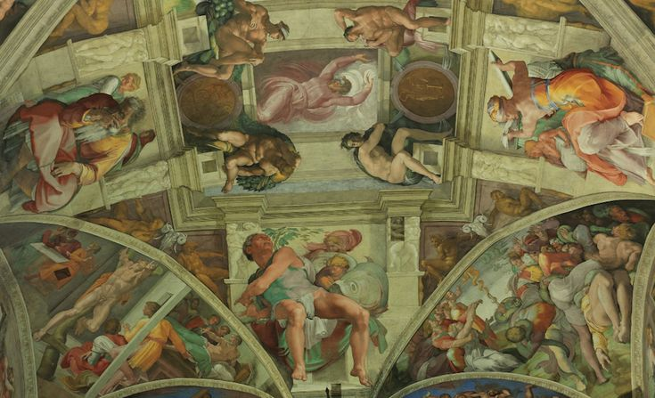 Sistine Chapel Ceiling - Separation of Light from Darkness