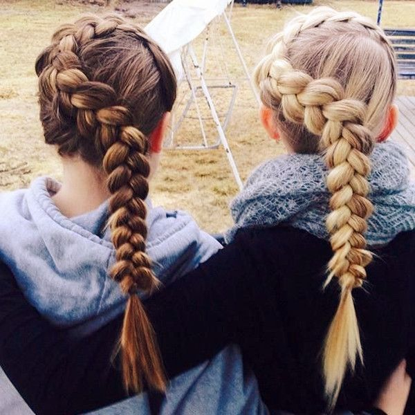 Cute Braided Hairstyles Pleasing 246 Best Flechtfrisurenbraids Images On Pinterest  Braided