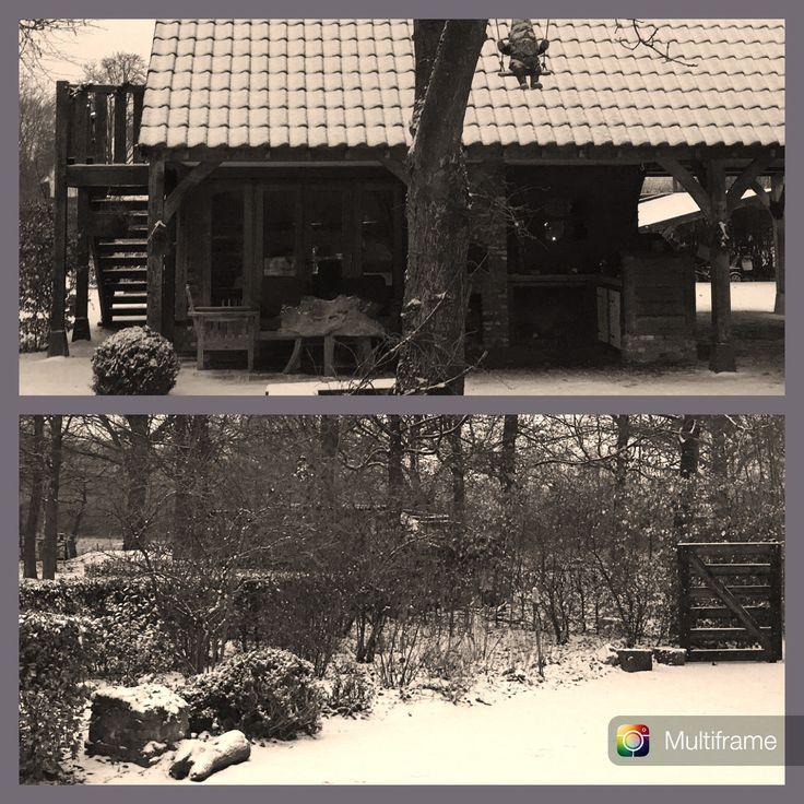 Mooie ochtend met sneeuw!