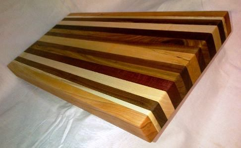 Custom order on a Cutting Board we recently did up for a customer. We think this came out looking pretty sweet!