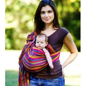 maya wrap lightly padded baby ring sling carrier  medium   bright stripe  26 best baby hammocks images on pinterest   baby hammock babies      rh   pinterest