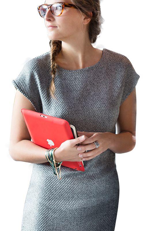 Harlequin jurk La Maison Victor | Een eenvoudige jurk die zich heel goed leent voor allerlei aanpassingen. Gedrukt patroon te bestellen voor €7,95 inc video die je helpt bij het naaien