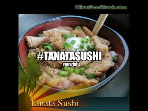 Tanata Sushi en Oliver Food Truck
