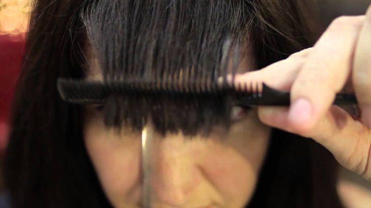 DIY Edgy Bangs : Hair Care & Makeup
