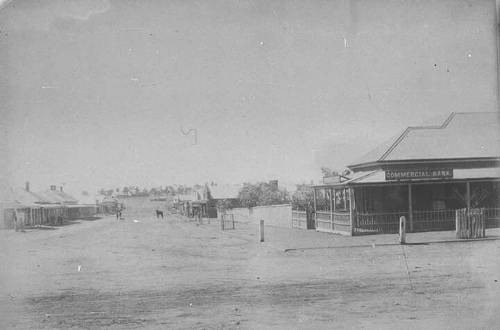 Cobar in New South Wales in 1892.
