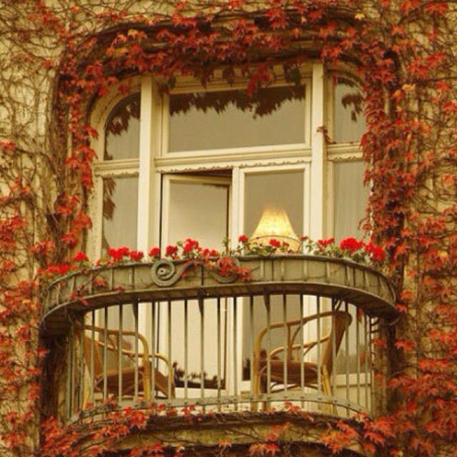A beautiful balcony.