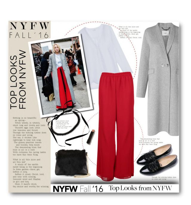 """""""60 Second Style: Best NYFW Street Style"""" by anitadz ❤ liked on Polyvore featuring L.K.Bennett, iHeart, Akris, Life 8, Foley + Corinna, Bobbi Brown Cosmetics, women's clothing, women, female and woman"""