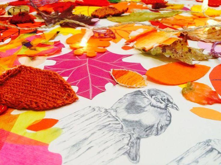 Už je to nějaký ten pátek, co nás oslovili naši přátelé, jestli bychom nemohli vyplnit jejich Galerii nějakou kreativní myšlenkou. Výstavička byla naplánována na měsíc listopad, takže se téma vlast…