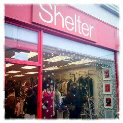 Shelter Charity Shop